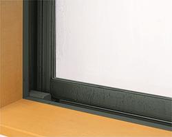 窓の水滴の写真